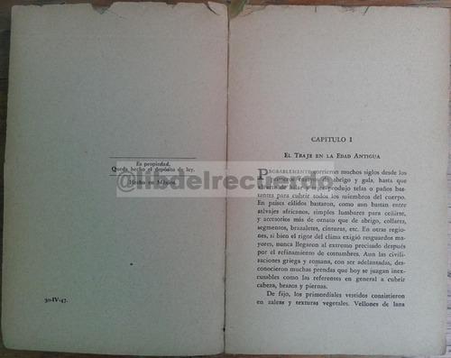 librcrd historia del traje, de a. hyatt verrill (1947)