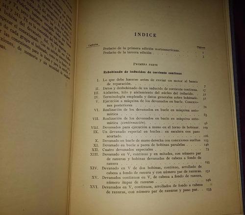 librcrd rebobinado de motores pequeños, de braymer (1959)