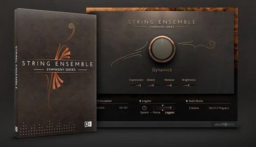librería de orquesta: symphony series complete - kontakt