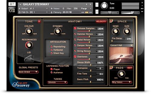 librería de piano: galaxy steinway   kontakt   pc / mac