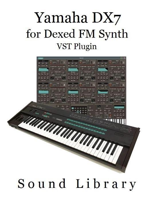 Librería De Sonidos Yamaha Dx7 Para Fm Synth (vst Plugin) - $ 480,00