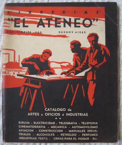 librería el ateneo catálogo de artes y oficios é industrias