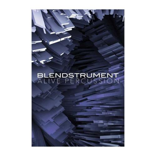 librería percusión: blendstrument alive percussion /  pc mac