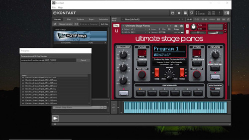 librerias ultimate stage pianos para kontakt vst