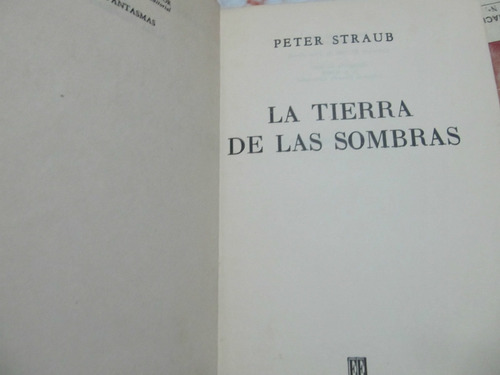 libreriaweb la tierra de las sombras - peter straub