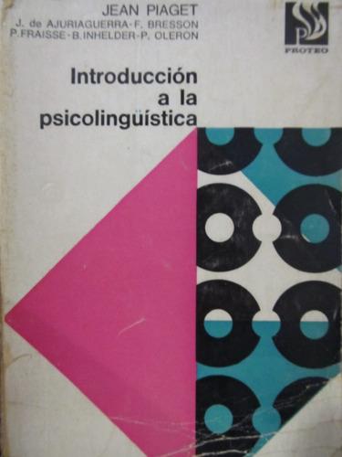libreriaweb psicologia introduccion a la psicolinguistica