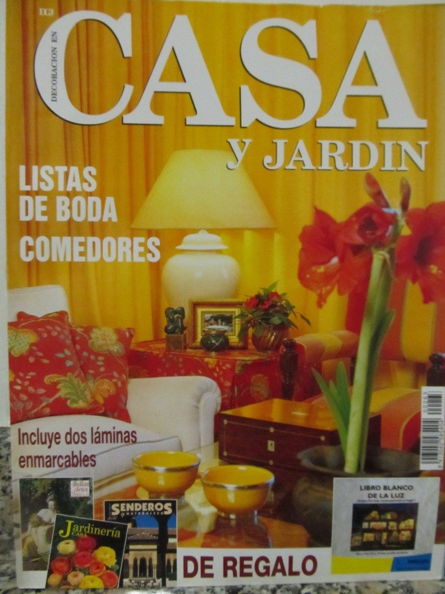 Revista de casa trendy revista de casa with revista de for Casa jardin revista