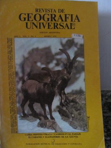 libreriaweb revista de geografia universal - 16 numeros