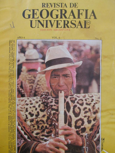 libreriaweb revista de geografia universal  vol. 6