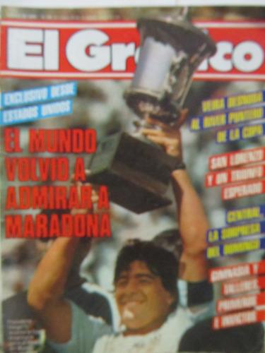 libreriaweb revista el grafico futbol mundial numero 3486