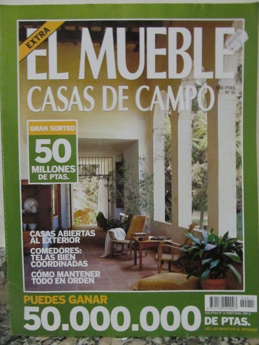 libreriaweb revista el mueble casas de campo n