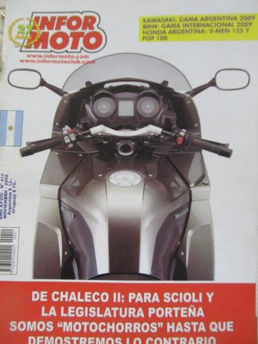 libreriaweb revista informoto motociclismo motos numero 410