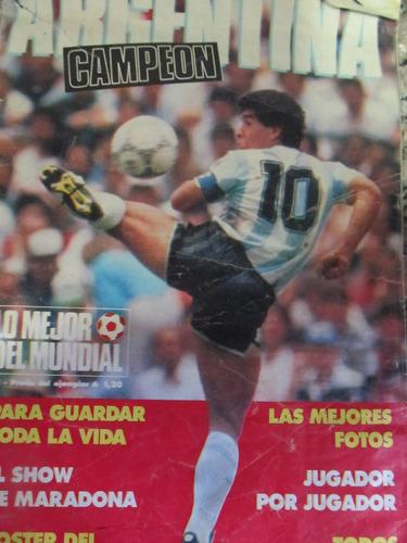 libreriaweb revista lo mejor del mundial argentina 1986