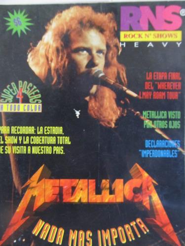 libreriaweb revista metallica rock n' shows heavy musica