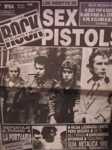 libreriaweb revista rock en blanco y negro sex pistols n 64