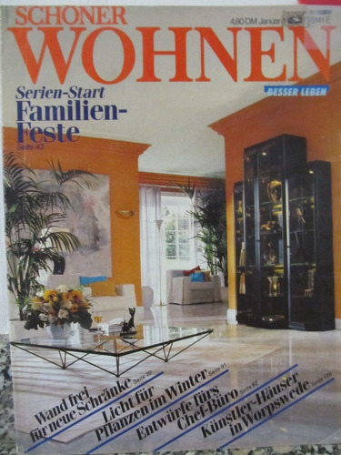 libreriaweb revista schonen wohnen - enero 1987