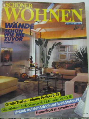 libreriaweb revista schonen wohnen - octubre 1986