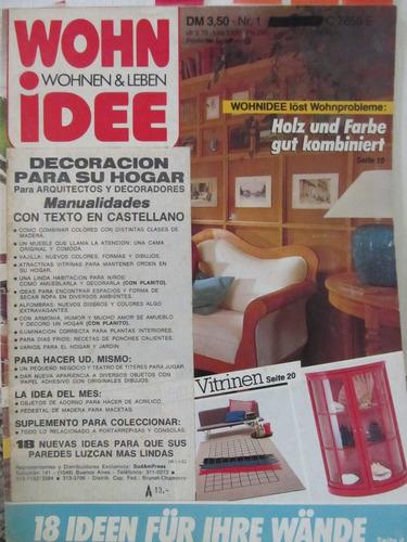 libreriaweb revista wohn idee - enero 1987