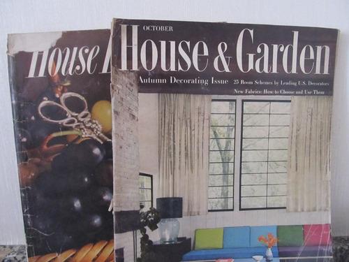 libreriaweb revistas house y garden y house beautiful