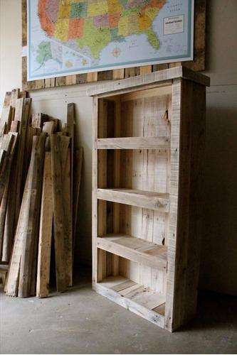 librero avellina 190x110x33 madera pantano pallet librero