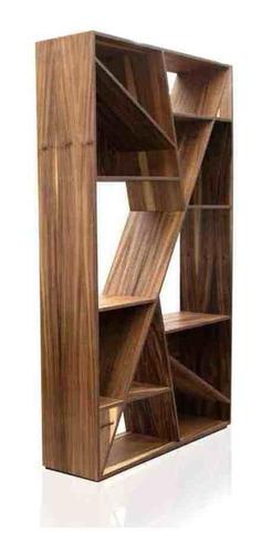 librero bankole encino - inlab muebles