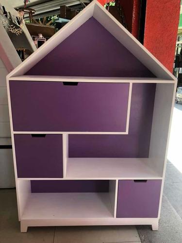 librero de casita