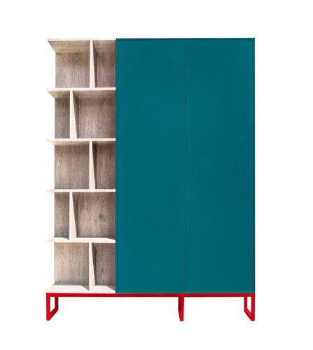 librero de diseñador, personalizable, con puertas, ideare