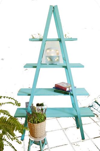 librero escalera decoraciòn vintage desmontable