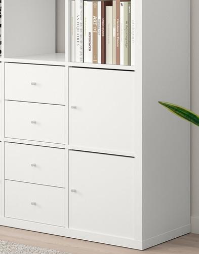 librero estante estilo minimalista ikea línea kallax