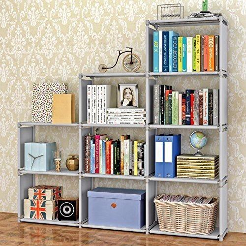 Librero Estantera Libros Revistas 9cubos Plstico Oficina
