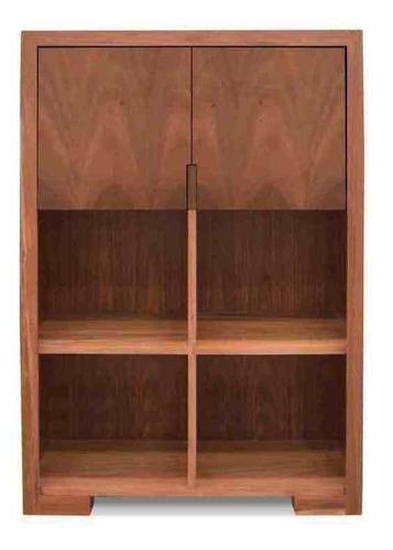 librero fontana encino - inlab muebles