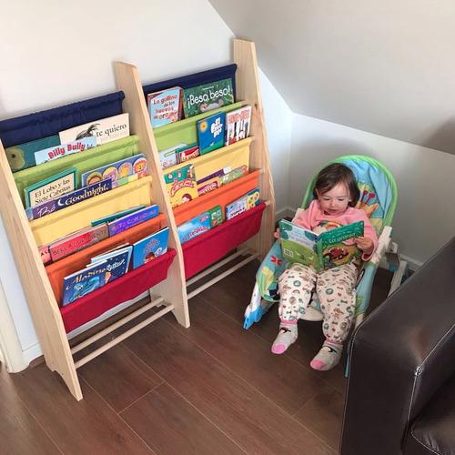 librero infantil doble para niños