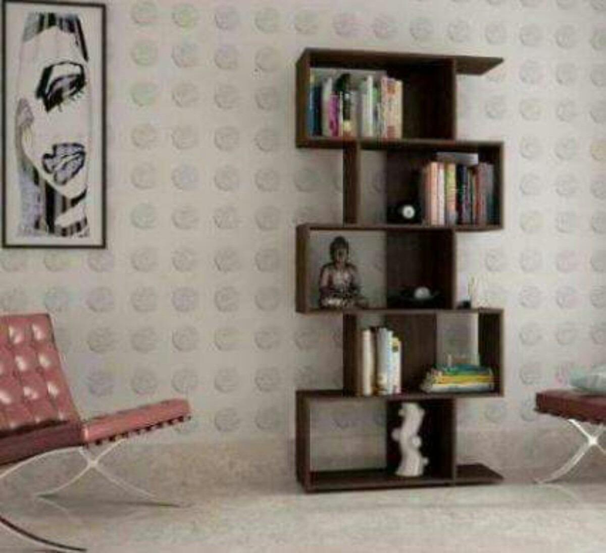 Librero Mediterr Neo Wengue 65 000 En Mercado Libre # Fabrica De Muebles Pudahuel