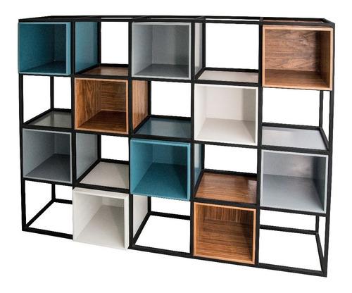 librero moderno de diseñador y personalizable. ideare mobili