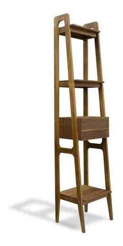 librero neema parota - inlab muebles
