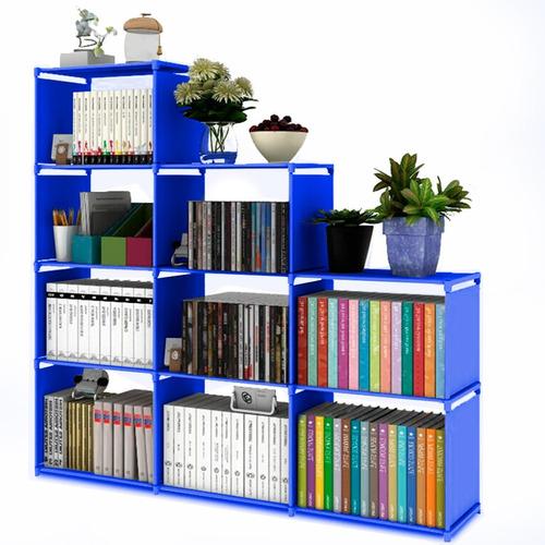 librero organizador armado facil, diferentes colores