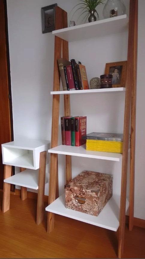 Librero repisa escalera estilo n rdico envio gratis 160cm for Repisa escalera