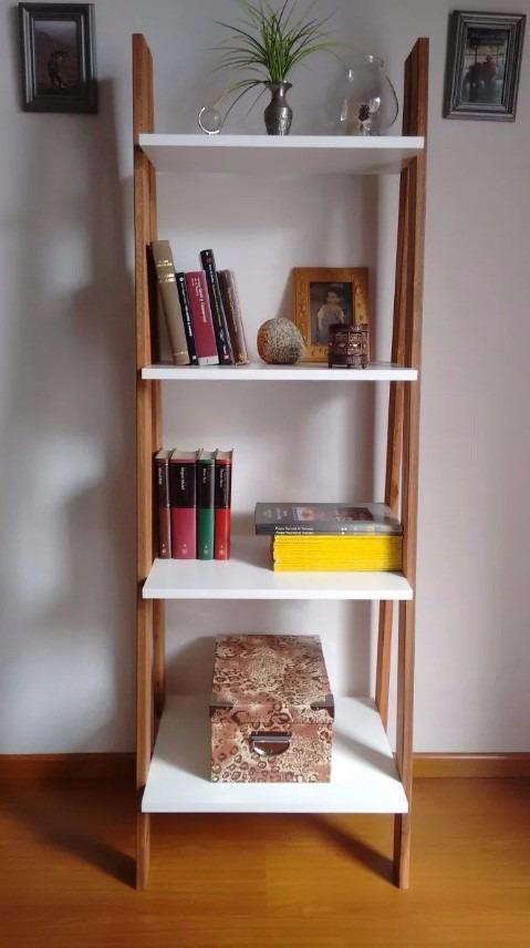 Librero repisa escalera estilo n rdico envio gratis 160cm for Repisas para escaleras
