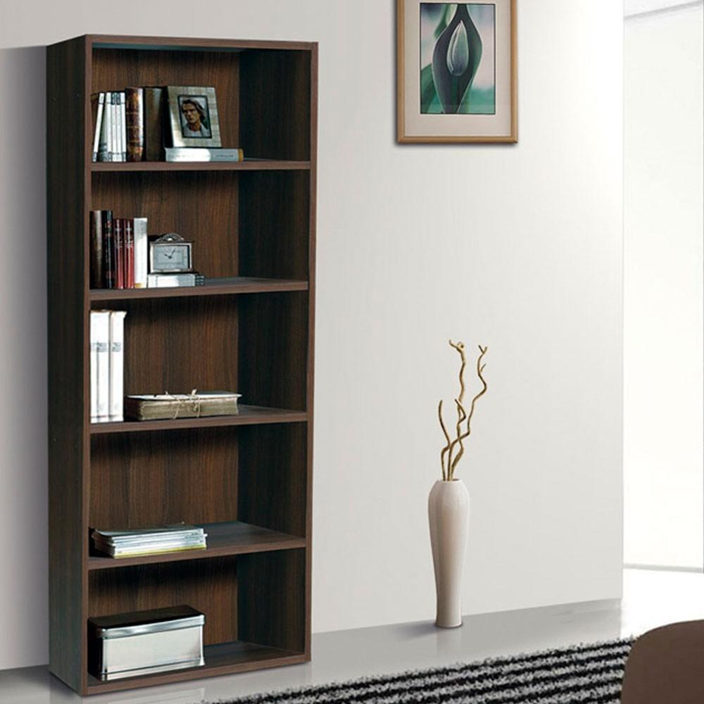 Librero Ricchezze 5 Niveles Florencia Cherry 1 979 00 En  # Muebles Ricchezze