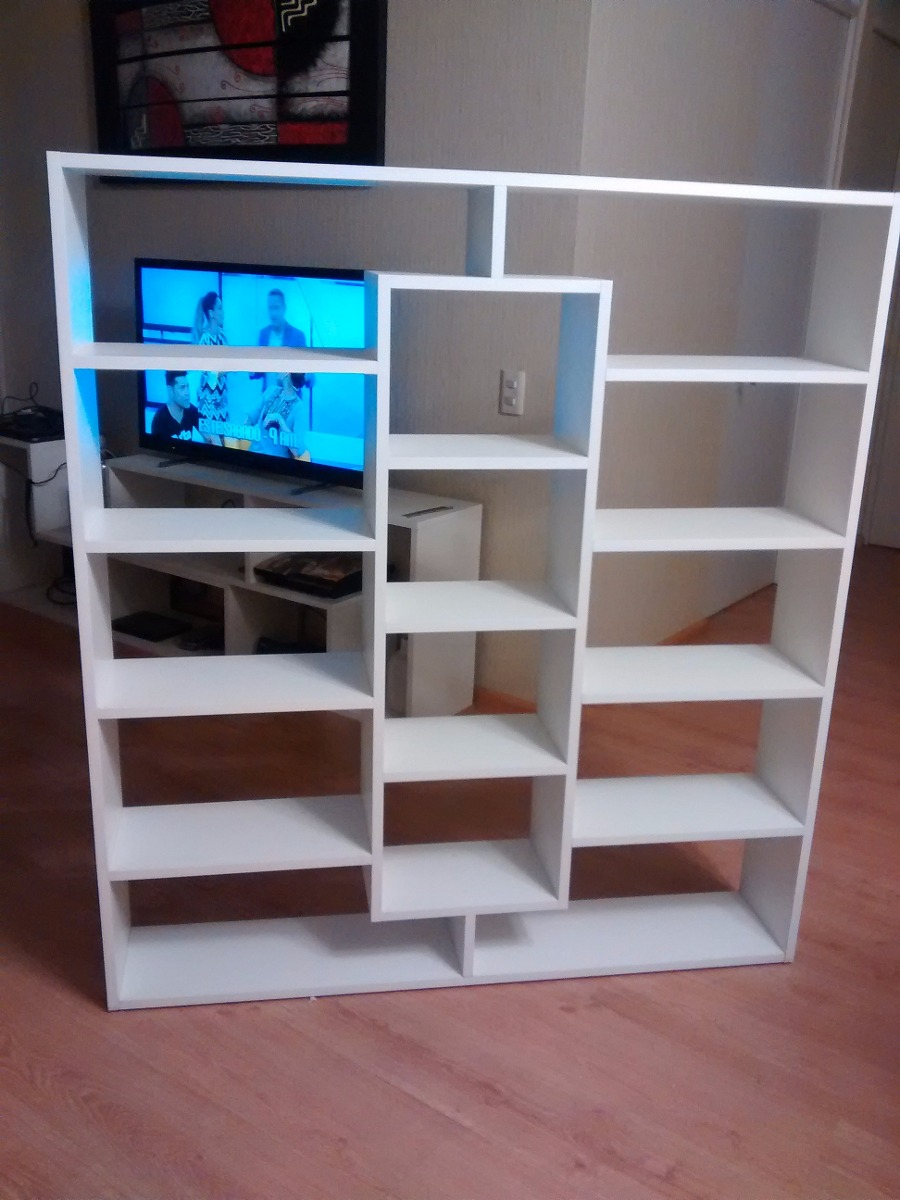 Librero separador ambiente estante zapatero mueble for Zapatero mueble mercadolibre