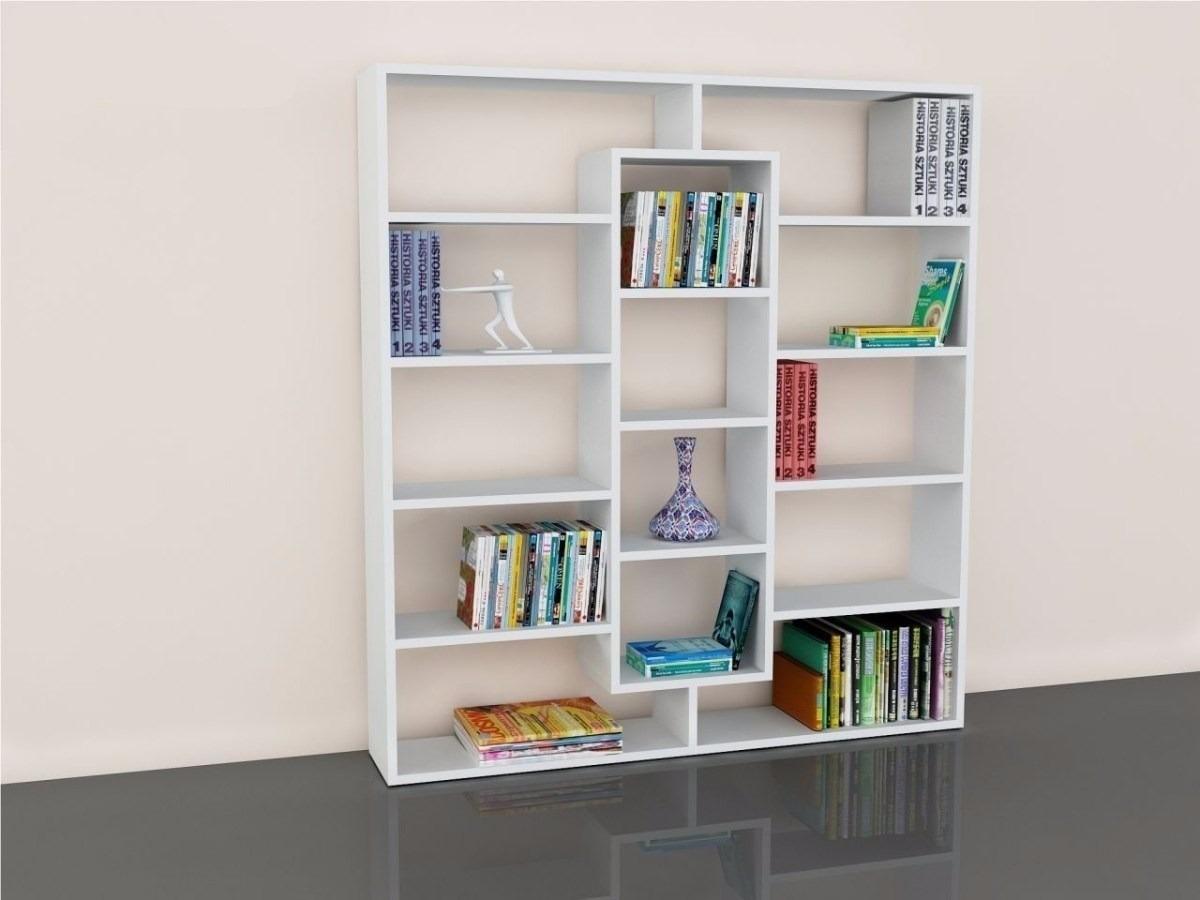 Librero separador ambiente estante zapatero mueble - Pintura para muebles de melamina ...