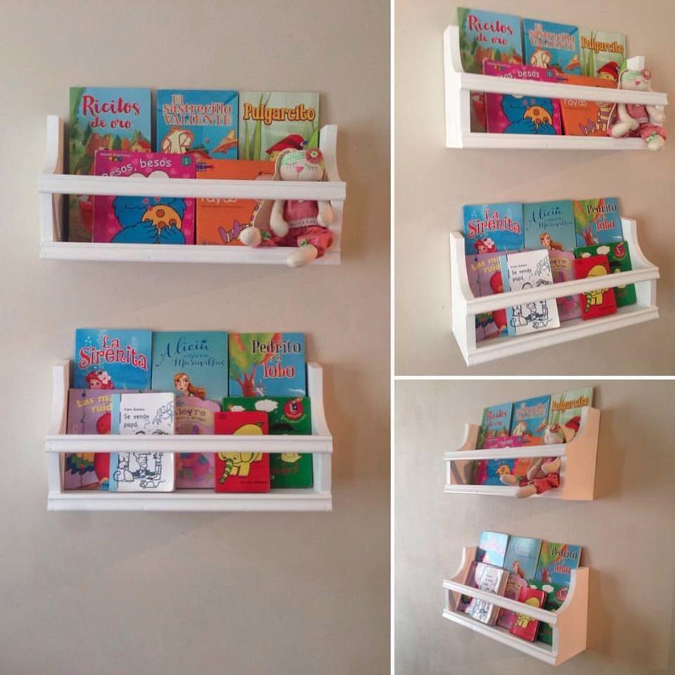 Libreros Infantiles Repisas Flotantes Modelo Colonial