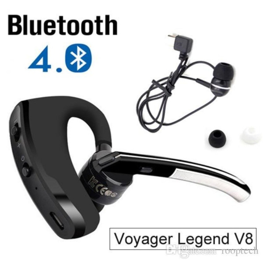 New V8 Business Bluetooth Headset Handsfree Wireless: Audifono Manos Libres Bluetooth V8 Voyager Legend
