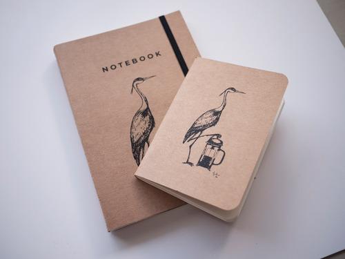 libreta barista notas cafe infusores notebook