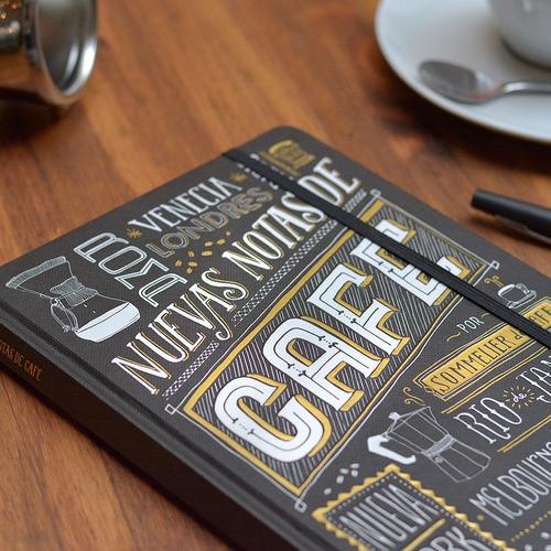 libreta bitacora nuevas notas de cafe  nicolas artusi