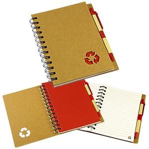 libreta cuaderno ecologico.