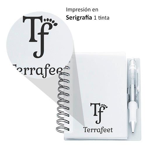 libreta, cuaderno, promocionales publicidad logo empresa
