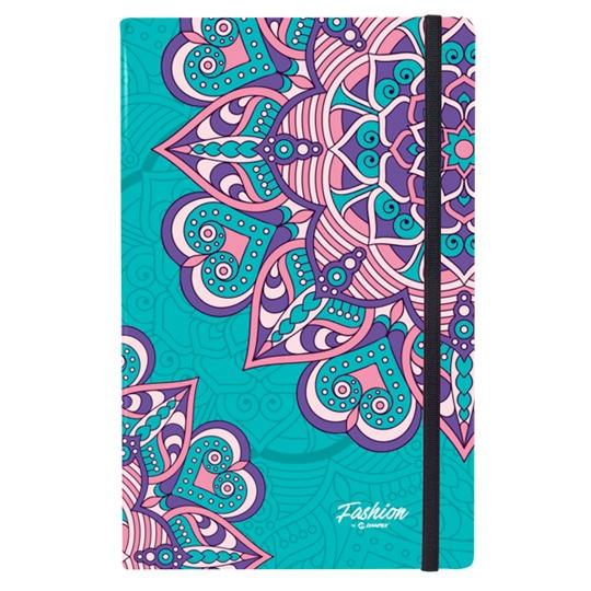 Libreta De Notas Danpex Diseño Mandalas Color Azul 23900 En