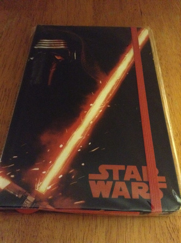 libreta de notas star wars the force awakens kylo ren 120 pg