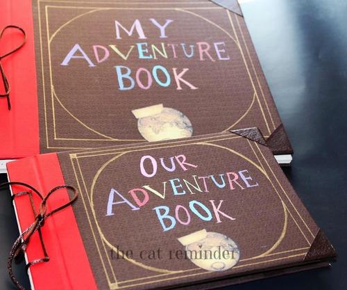libreta de up , mi libro de aventuras   (tamaño carta)